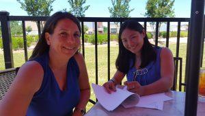 Dr. Sharon King and Dr. Megan Hirano